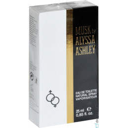 MUSK ALY ASH EDT 25 SPRAY...
