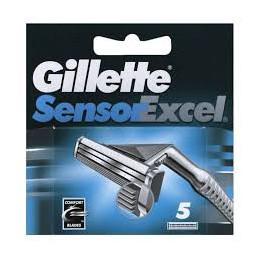 GILLETTE LAME SENSOR EXCEL X 5