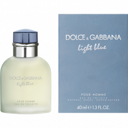 D G LIGHT BLUE U EDT 40 ML ATO