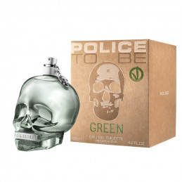 POLICE TO BE GREEN UNISEX...